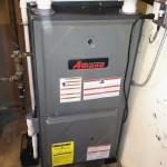 Amana High Efficiency Furnace Installation