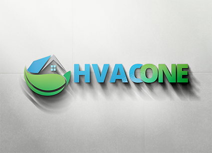 HVAC One Logo Wall